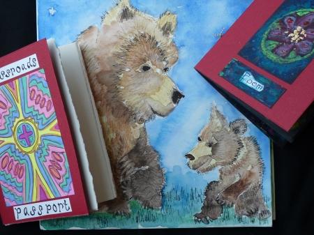 Three Mini Red Books